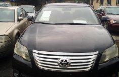 Toyota Avalon 2006 Model Nigeria Used V6 Black