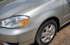 Used Toyota Corolla Foreign LE 2004 Model Silver