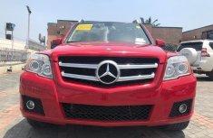Mercedes Benz GLK350 4MATIC Tokunbo 2011 Model Red