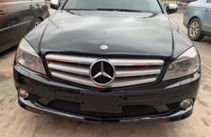 2009 Mercedes Benz C300 Foreign Used Black