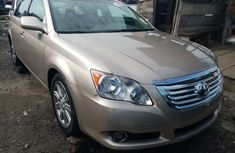 Foreign Used Toyota Avalon 2008 Model Gold for Sale