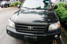 Toyota Highlander SUV Tokunbo Black SUV for Sale
