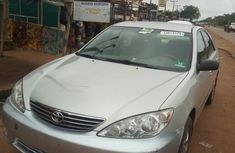 Foreign Used Toyota Camry 2005 Sedan Silver Colour