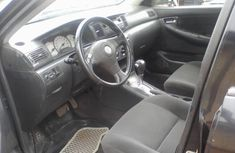 Toyota Corolla for Sale in Lagos Naija Used Black 2005 Sedan