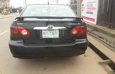 Toyota Corolla for Sale in Lagos Naija Used Black 2004