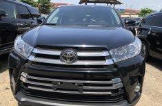 Toyota Highlander SUV Tokunbo  Black 2016 Model