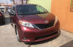 Used Toyota Sienna for Sale in Nigeria Tokunbo 2011 Minibus