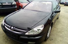 Peugeot 607 2003 Model Tokunbo Black Sedan