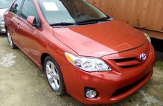 Toyota Corolla for Sale in Lagos LE 2012 Tokunbo Sedan