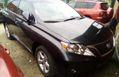 Lexus RX350 2010 Model Foreign Used Black