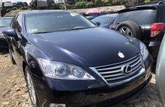 Used Lexus ES 350 Black Sedan 2010 Model