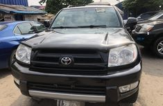 Toyota 4Runner 2005 Model Foreign Used Grey