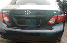 Foreign Used 2009 Toyota Corrolla