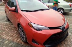 Used Toyota Corolla Foreign Used 2018 Model Red