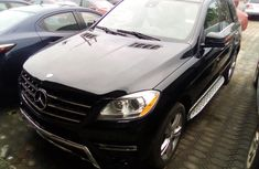 Mercedes Benz ML350 4Matic Tokunbo 2013 Model Black