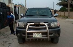 2005 Toyota Tundra Nigeria Used  Black for Sale in Lagos