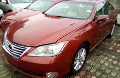 Lexus ES 350 Foreign Used 2011 Model Red