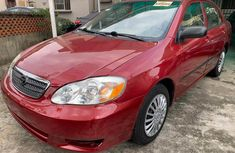 Used Toyota Corolla Foreign 2006 Model Red for Sale