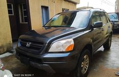 Honda Pilot 2005 Model Foreign Used Grey for Sale