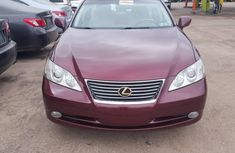 Lexus ES 350 2008 Model Foreign Used Red