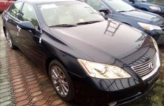 Lexus ES 350 Foreign Used 2010 Model Black