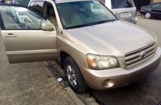 Toyota Highlander SUV Foreign Used 2004 Model Brown