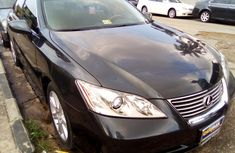 Lexus ES 350 Foreign Used 2009 Model Black
