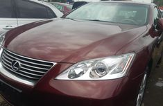 Lexus ES 350 Foreign Used 2008 Model Red