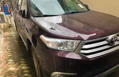 Toyota Highlander SUV Foreign Used 2012 Model for Sale