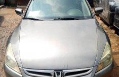 2006 Honda Accord Nigeria Used Grey for Sale