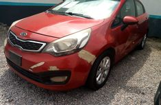 Used 2012 KIA RIO Nigeria Manual Red for Sale