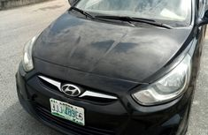 2012 Hyundai Accent Nigeria Used Black for Sale