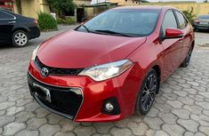 Used Toyota Corolla Nigeria 2016 Model Red for Sale