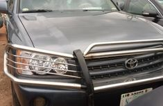 Toyota Highlander SUV Nigeria Used 2003 Model Blue
