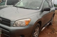 2007 Toyota RAV4 Nigeria Used Silver for Sale