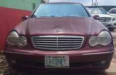 Mercedes Benz C240 Nigeria Used 2005 Model Red