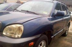 2005 Hyundai SANTA FE Foreign Used Blue for Sale