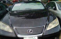 Lexus ES 350 Nigeria Used 2007 Model Black