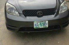 Used 2005 Toyota Matrix for Sale Nigeria Grey