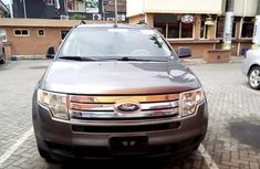 Ford Edge 2009 Model Foreign Used Grey for Sale