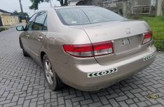 Honda Accord 2003 Model Nigeria Used Gold