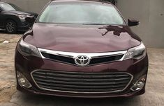 Toyota Avalon 2015 Model Foreign Used Red for Sale