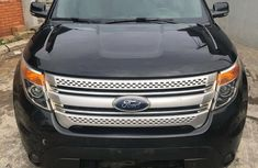 Used Ford Explorer Nigeria 2015 Model Black