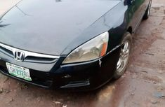 Honda Accord 2006 Model Nigeria Used Black
