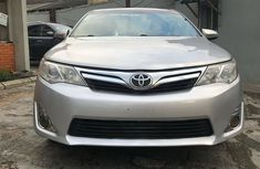 Used Toyota Camry Nigeria 2012 Model Silver
