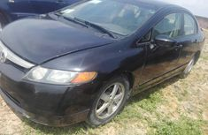 Used Honda Civic 2006 Model Nigeria Black
