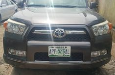 2010 Toyota 4Runner Foreign Used Gray Jeep in Lagos