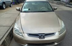 Nigerian Used Honda Accord 2004 EOD Sedan in Lagos
