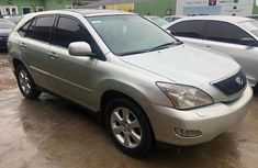 Used Lexus RX 330 Nigerian Used Silver 2004 Crossover