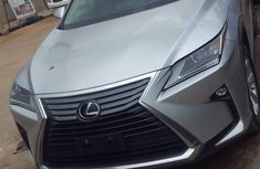 Lexus RX350 2016 Model Foreign Used V6 Silver